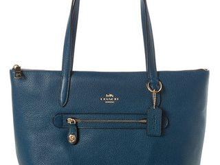 COACH Pebbled Taylor Tote Handbag Retail   379 99