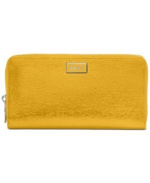 Dkny Gigi leather Zip Around Wallet Retail   51 99