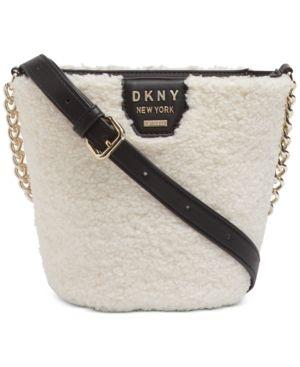 Dkny Shane Sherpa Bucket Bag Retail   109 99