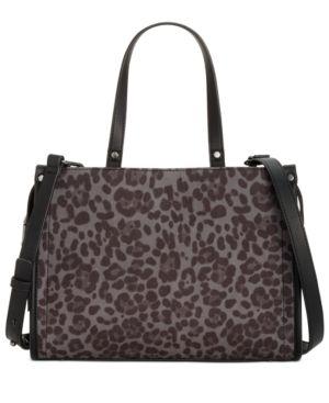 Inc Remmey leopard Print Satchel Retail   44 99
