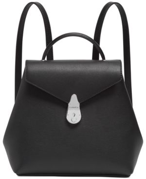 Calvin Klein lock leather Backpack Retail   209 99