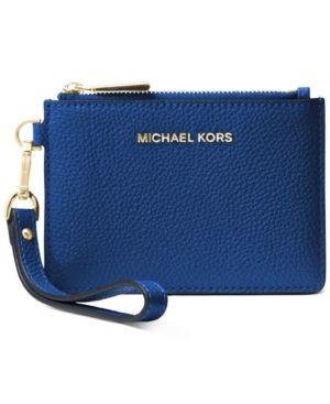 Michael Kors Small leather Wristlet Retail   59 99