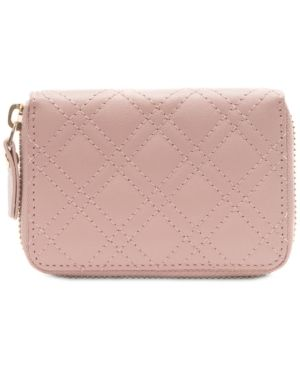 Collection Xiix Quilted Mini Zip Around Wallet Retail   26 99