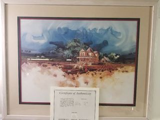 Day s End by M  Atkinson  Framed  With Certificate Of Authenticity  Painted by Atkinson 379 1250
