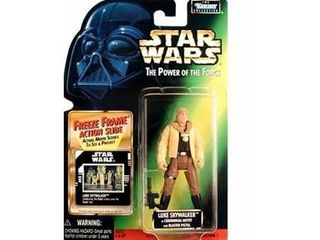 Star Wars  Power of the Force Freeze Frame luke Skywalker in Ceremonial Outfit Action Figure