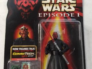 Star Wars Darth Maul Action Figure New In Box