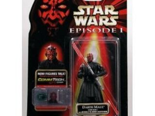 Darth Maul Variant Hasbro Figure Star Wars Episode I Commtech Collection 1