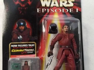 Star Wars Episode 1 Comtech Basic Figure Naboo Royal Guard  new