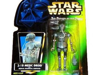 Star Wars Power of the Force POTF2 Collection 2 2 1B Medical Droid Action Figure  Hologram Card