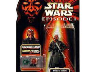Star Wars Episode I Basic 1999 Darth Maul Action Figure  Jedi Duel