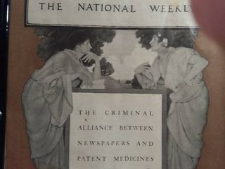 Collier s The National Weekly The Criminal Alliance Between Newspapers And Patient Medicines July 8 1905   Magazine Cover