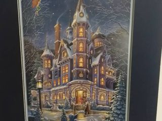 Painted By Randal Spangler  Home Is Where The Magic Is  signed This is the beautiful home of the wise old Wizard  ladnar and his wife Eleanor