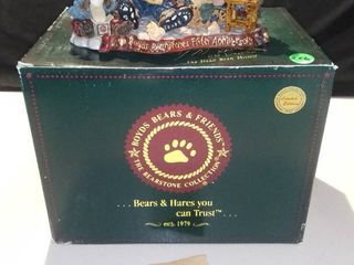 limited Edition 1998 Boyds Bears and Friends Bearstone Collection