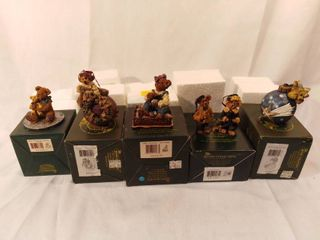 lot of 5 Boyds Bears and Friends from the Bearstone Collection