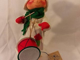 Handmade Handpainted Annalee Doll Society The Drummer Boy 12 Inches