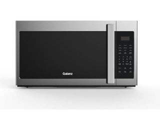 Galanz 1 7 cu  ft  Over the Range Microwave Oven in Stainless Steel  Silver