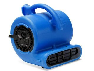 B Air VP 25 1 4 HP Air Mover for Water Damage Restoration Carpet Dryer Floor Blower Fan Home and Plumbing Use  Blue