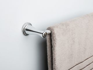 Style Selections 24in Towel Bar Chrome Finish