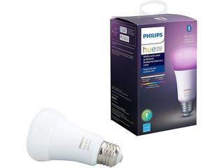 Philips   Hue White   Color Ambiance BR30 Bluetooth Smart lED Bulb   Multicolor