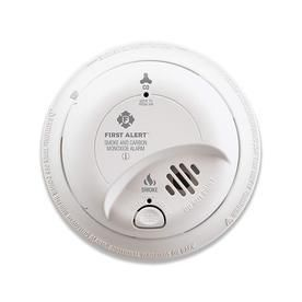 First Alert BRK SC9120B Hardwired Smoke and Carbon Monoxide  CO  Detector with Battery Backup