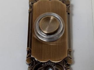 Brass Finish Doorbell Button 0163363 Mount Wired   Style Selections