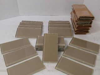 American Olean Glass Wall Tile  Color   Tan