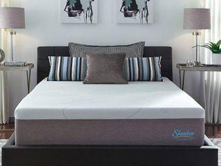Slumber Solutions 14 inch Gel Memory Foam Choose Your Comfort Mattress   White  King   Retail 589 99
