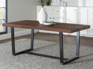 Carbon loft Barnett Solid Wood Dining Table   Retail 337 49