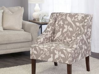 HomePop Swoop Arm Accent Chair  Multiple Colors
