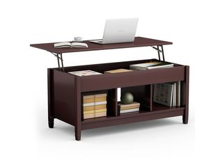 Brown living Room Furniture lift Top Storage Coffee Table Retail  159 99