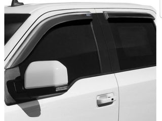 Clim ArtAr 415010   Tape On Shatterproof Dark Smoke Front and Rear Side Window