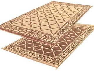 EasyGoProducts EGP RVM 009 Camping 9ax 12a Outdoor Patio Reversible RV Mat