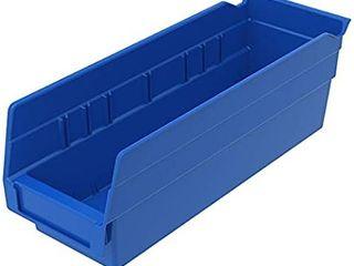 Akro Mils 30120 Plastic Nesting Shelf Bin Box 24 Pack