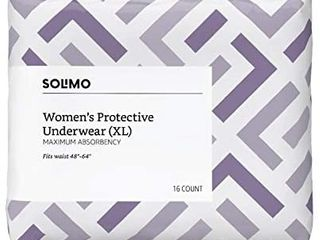Brand   Solimo Incontinence Underwear For Women Maximum Absorbency Extra large