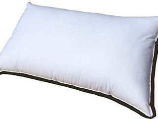21x37 Inch Premium Polyester Filled Pillow Form Insert   Machine Washable   Oblong Rectangle King one pillow