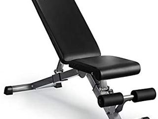 Adjustable Weight Bench  Kitopa Utility Workout Bench