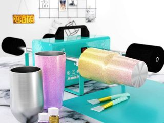 Canva Cup Tumbler Machine Rotisserie Kit for DIY Epoxy Crafts