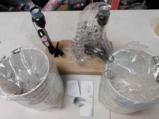 Set of Small Table lamps