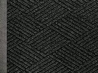 WaterHog Eco Commercial Grade Entrance Mat  Indoor Outdoor Black Smoke Floor Mat 3  10  length x 2  11  Width  Black Smoke by M A Matting   2295700023