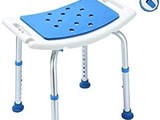 Health line Massage Products Upgraded EVA Paded Shower Stool Chair with Assist Grab Bar