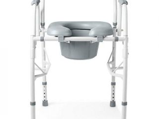 Medline Guardian Padded Drop Arm Commode
