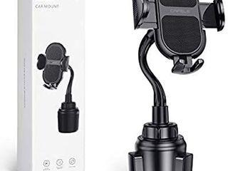 CAFElE Car Cup Holder Phone Mount  Universal Adjustable Gooseneck Cup Holder Cradle Car Mount