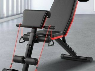 Dumbbell Bench Sit ups Fitness Equipment Home Multifunctional Auxiliary Device Supine Board Fitness Chair Bench Press