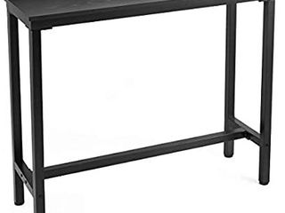 Mr IRONSTONE Bar Table  47a Rectangular Kitchen Pub Dining Coffee Table High Writing Computer Table