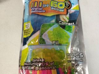 Self Sealing Water Balloons   Pack Of 111   Happy Baby Balloon   Quick Fill