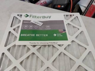 Pleated Air Furnace Filters  Set of 4