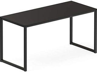 Shw Home Office 48 inch Computer Desk  Black  Damaged box