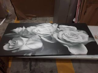 Bunch of Roses Canvas Wall Art 28 by 60 inch