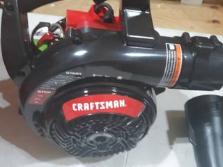 Craftsman 27cc 2 cycle Gas Powered Handheld leaf Blower Cmxgaamr27bl
