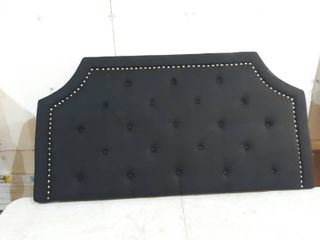 Black Headboard  Approx 59 by 31 inch  No Hardware